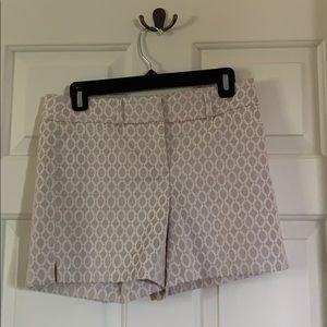 NWOT White House Black Market shorts, size 0
